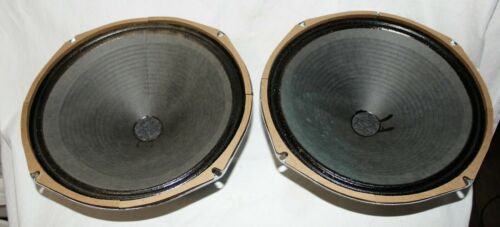 "12"" Square Magnet Speaker 8 ohms (maybe Eminence) Qty. 2 (1 pair)"