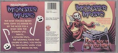 Halloween: Monster Music by Various Artists (CD, 1998, BCI-Eclipse Distribution) (Halloween Music Rock)