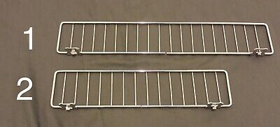 Lot Of 15 17 Wire Shelf Divider Fence Fits Gondola Lozier Madix Free Shipping