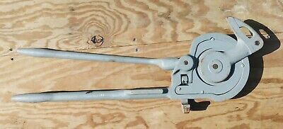 Ridgid No. 368 Geared Ratchet Tubing Bender 34 O.d.