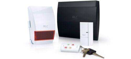 ALC Wireless Security System Starter Kit White ALC-AHS613