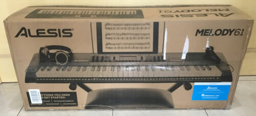 Alesis Melody 61 MKII | 61 Key Portable Keyboard with Built In Speakers