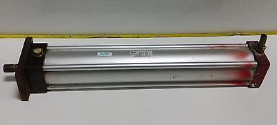 Schrader Bellows Econo-ram Ii Pneumatic Cylinder Fw2d112141 20.000 Pzb