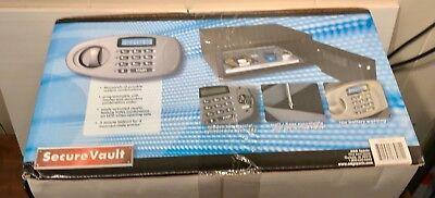 ADG Sports Secure Select Low Profile Vault Gun Safe w/LED Keypad Lockout Key ()