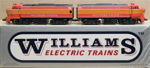Williams SP/Southern Pacific Daylight Shark Pow/Dum Diesel Engine Set O-Gauge