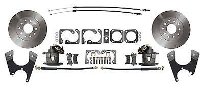 "Rear Disc Brake Conversion Kit for Standard GM 10"" 12"" Bolt Rear End, Std Rotors"
