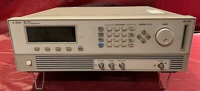 Agilent 8114a High Power Programmable Pulse Generator W Opt. 001