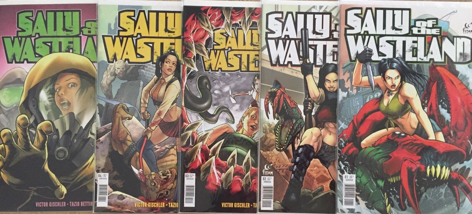 Sally Of The Wasteland Titan Comics, 2014  - $15.00