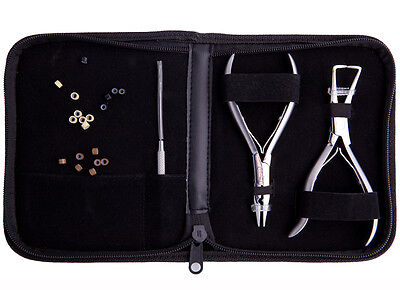 Salon Tool Kit - For Complete hair extension installation, used for sale  Shipping to India