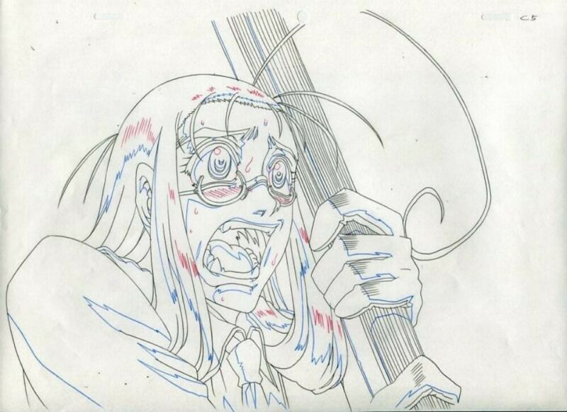 Anime Douga not Cel Hellsing 2 pages #25