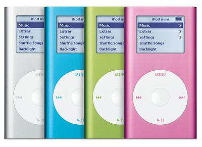 4GB Apple iPod Mini 2nd Generation A1051 +Battery Upgrade +Wolfson DAC +Warranty