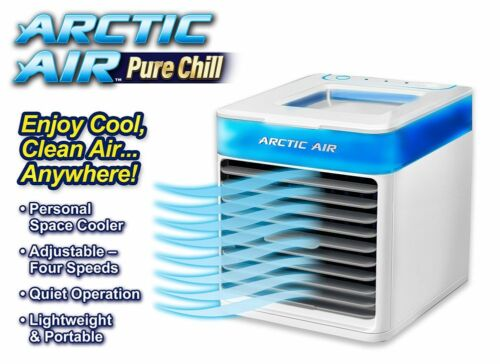 Arctic Air Pure Chill Personal Space Evaporate Air Cooler Air Purifies UV Light