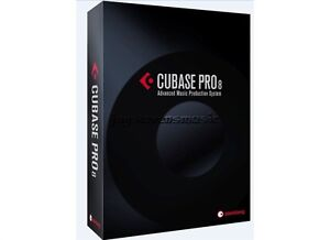 Steinberg Cubase 8 PRO Full Version Factory Sealed Box upgrade to 9 for free!