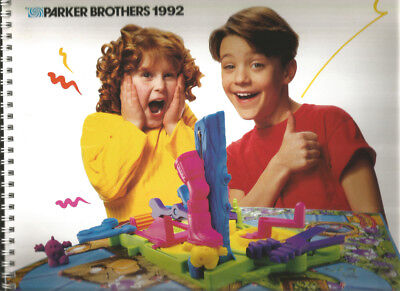 Parker Brothers 1992 Toy Catalog Travel, Children's, Family, & Adult Games