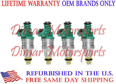Genuine BOSCH Fuel Injector Set of 4 UPGRADE! FOR 1985-2003 K100RS