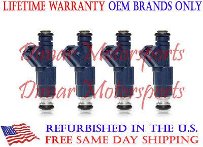 *BEST UPGRADE* 2.5L Dakota Wrangler 4 Nozzle Bosch Fuel Injector Set