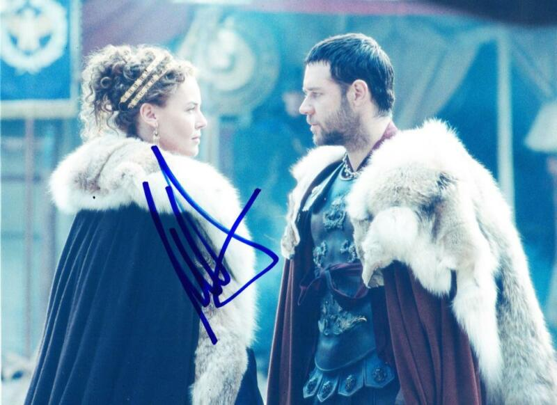 CONNIE NIELSEN SIGNED 8X10 PHOTO WONDER WOMAN GLADIATOR AUTHENTIC AUTOGRAPH COA