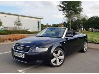 Audi A4 Cabriolet 1.8 T S line 2005 Automatic Top Spec Bose Heated Leather etc