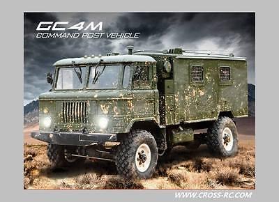 Cross Rc Gc4m 4X4 1 10 Off Road Rc Military Rock Crawler Truck Tractor Kits