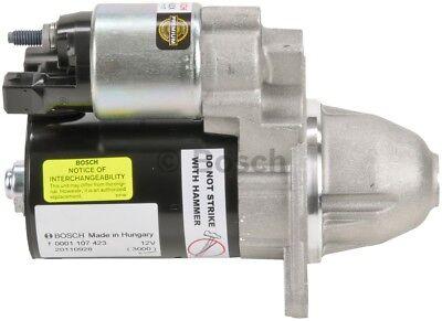 Starter Motor BOSCH SR0492X Reman fits 06-12 BMW Z4 3.0L-L6