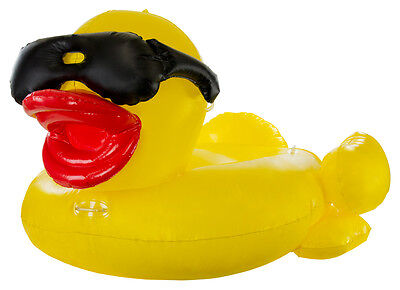 GAME 5000 Inflatable Swimming Pool, Pond and Lake Duck Float For Kids & Adults (Inflatable Duck)