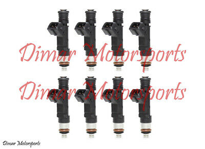 550cc Genuine Bosch High Flow Performance Fuel Injector Set of 8