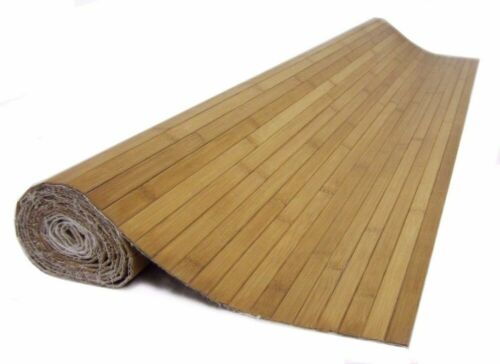 * 4ft x 8ft Bamboo Wainscoting Paneling Carbonized Finish Grt 4 Tiki Thatch Bar