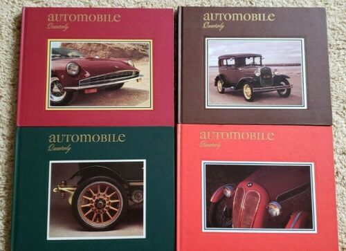 Automobile Quarterly Vol 29 Books 1-4