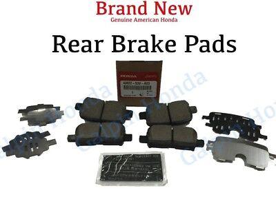 2001- 2006 Acura MDX Factory OEM Genuine Rear Brake Pad Set