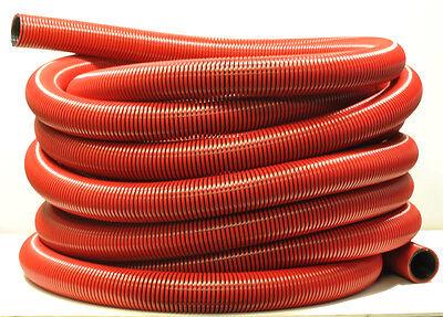 K1151 Genérico Rojo Alfombra Extractor Manguera 3.8cm X 15.2m