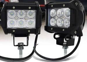 LED 4 inch Flood Light  (pair) Para Hills West Salisbury Area Preview