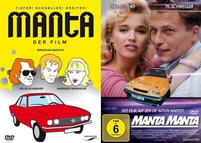 Manta - Der Film + Manta Manta - 2-Filme Set - (Til Schweiger) # 2-DVD-SET-NEU