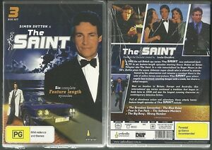 SIMON-DUTTON-IS-THE-SAINT-SIX-COMPLETE-FEATURE-LENGTH-EPISODES-NEW-3-DISC-SET