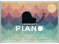 Piano Lessons | First lesson FREE