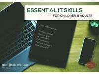 Essential IT Skills For Adults - One-to-One Private Lessons - Best Rates & Friendly Service!