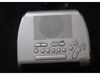 "Sony ""Dream Machine"" Clock Radio Alarm"