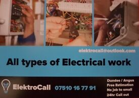 Electrician _______ Robbie _ _ _ ElektroCall ______Free estimates ____ 24h Call out _ __