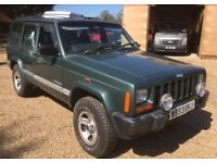 Jeep Cherokee 2.5 diesel spares or repairs excellent condition