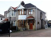 3 BEDROOMS - DURLEY AVENUE BEAUTIFUL SEMI DETACHED HOUSE TO LET FOR RENT BRADFORD BD9 HEATON