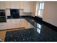 Granite, tap and sink