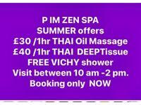 THAI MASSAGE BRADFORD BD9(choccolate body scrub free vichy shower)