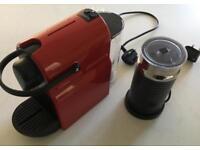 Nespresso Inissia coffee machine + Aeroccino