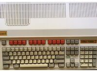 Acorn Archimedes A3000 working with upgrades (4MB RAM / IDE+SD / RISC OS 3) and associated items