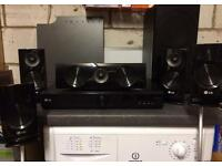 LG Receiver 5.1 Surround system 1100W - VGC