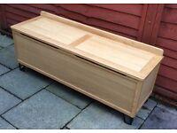 Heals Brunel, Oak Blanket Box, Ex Display Model.