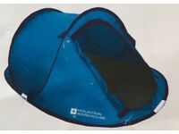 As New Mountain Warehouse 3 Man Pop Up Tent