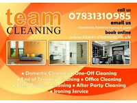 11.50p/h - commercial & Domestic cleaning including chemical