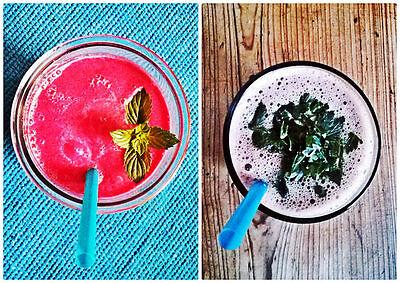Shakes mit Früchten reich an Antioxidation sind der perfekte Cool-Downer nach dem Training. (© Veganblatt.com)