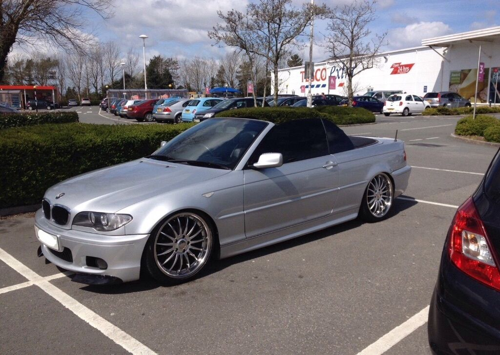 bmw e46 msport convertible m3 modified show car m sport in paddington london gumtree. Black Bedroom Furniture Sets. Home Design Ideas