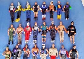 "Huge Job Lot of Vintage Action Man 12"" Figures and Accessories - Ideal Car Boot Or Christmas Present"